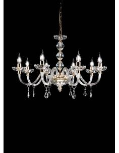 LAMP. BRIGIDA 8L CROMO