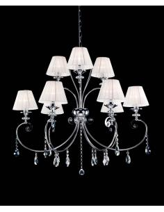 LAMP. CAPRI 9 LUCI