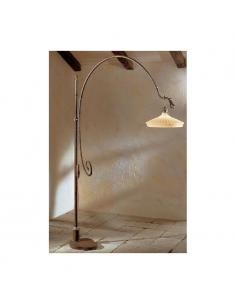 Floor lamp, COUNTRY GREEN E27