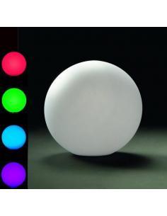 Sfera da giardino LED RGB carica a induzione D35
