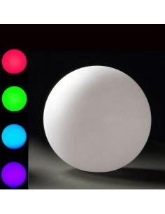 Ball garden LED RGB charge induction D45