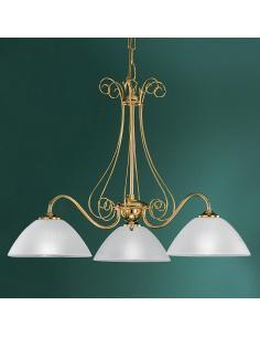 BELLINI chandelier 3L gold