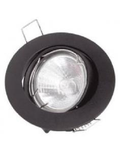 Recessed spotlight adjustable white finish