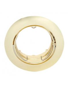 Recessed swivel gold finish