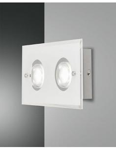 BALI WALL SCONCE WHITE 2 LIGHT 16W 1450 LM