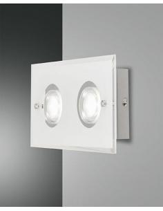 BALI WALL SCONCE WHITE 2 LIGHT 16W 1450 LM