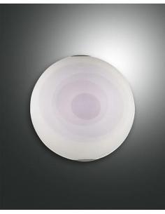 Plafoniera tonda viola diametro 30cm
