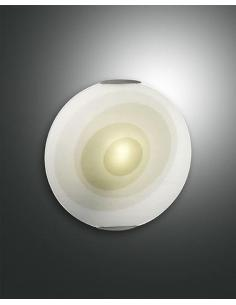 Plafoniera tonda verde diametro 30cm