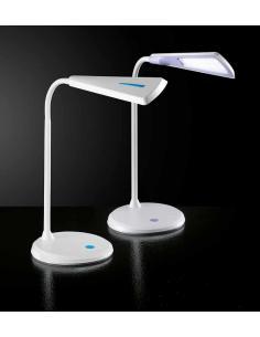 Lampada da tavolo colore azzurro