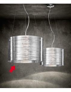 Suspension acriclico transparent