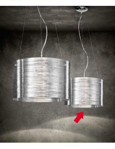 Suspension acriclico transparent D38
