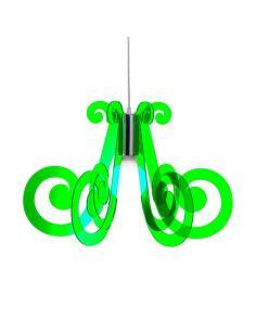 MIZAR Lampada a Sospensione Verde