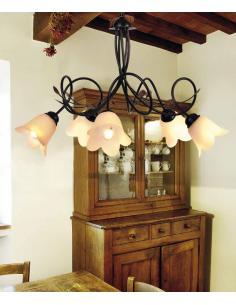 TABASCO chandelier 5 Lights