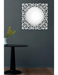 ALPEN ceiling light/wall sconce with white 57 x 57 cm