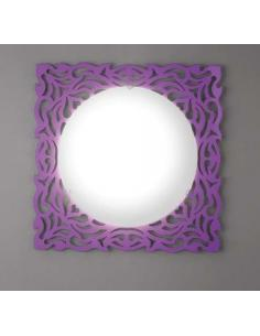 ALPEN ceiling light/applique purple 57 x 57 cm