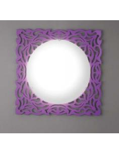 ALPEN ceiling light/applique purple 57 x 57 cm