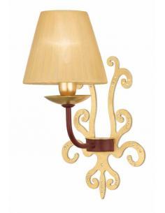 PARAPÀ applique gold leaf + lampshade
