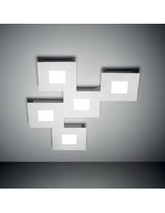 SQUARES lampada da soffitto 37W LED