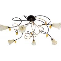 Gibas 809/6PL Lampada da Soffitto Spring