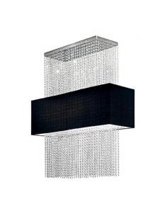 Ideal Lux 101163 PHOENIX SP5 Nero Lampada a Sospensione