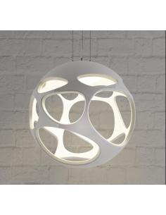 Mantra 5144 Organica Lampadario a Sospensione Sferico Design