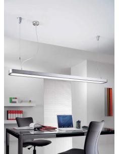 Suspension lamp and fluorescence