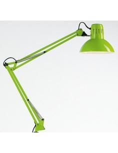Perenz 4025 VE Lampada Da Tavolo Orientabile In Metallo Verde