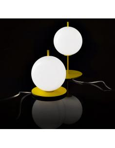A L table lamp white