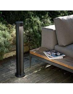 Ideal Lux 113821 Midras PT1 floor Lamp Round Black