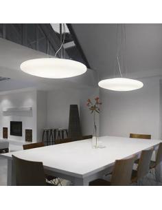 Ideal Lux 031996 Smarties Lampada a Sospensione Bianca D60