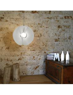 Line Zero AT/S/45 W Atom pendant Lamp White D45