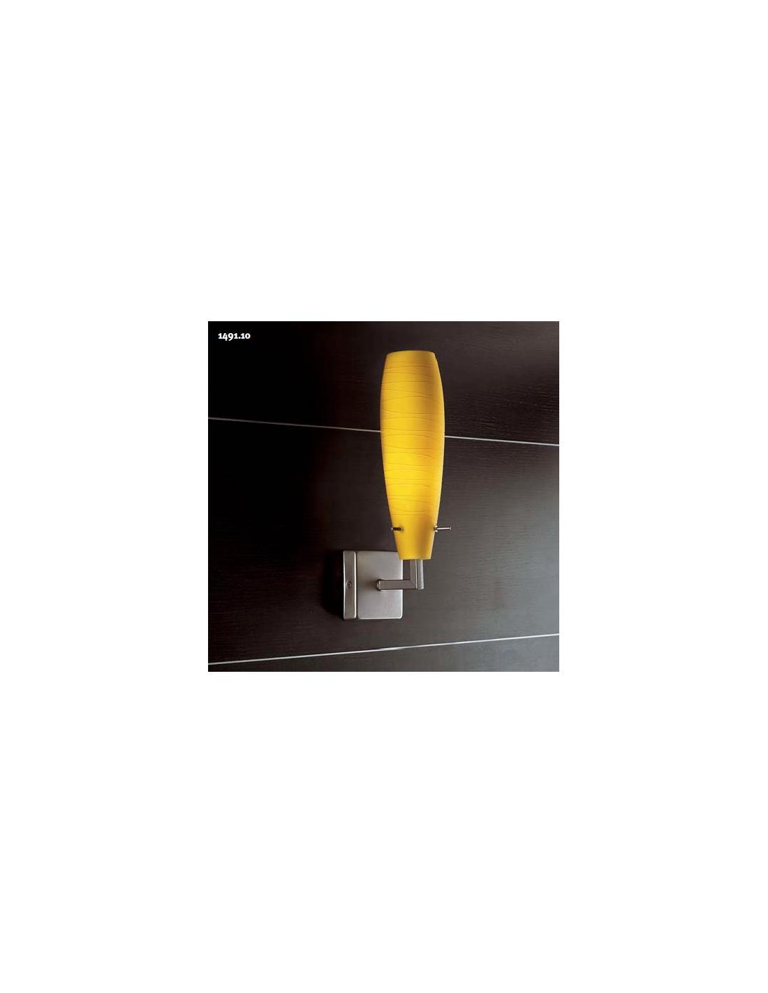 Yellow Wall Lamps : Additional 149110 Martini Wall Lamp Square Base, Yellow