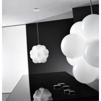De Majo 0BABO0S00 B Suspension Lamp Babol Glossy White