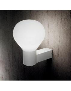 Ideal Lux 146638 Clio AP1 Wall Lamp Grey