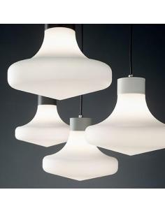 Ideal Lux 150062 Sound SP1 Lampada a Sospensione Grigio