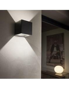 Ideal Lux 149738 Rubik AP1 Wall Lamp Anthracite