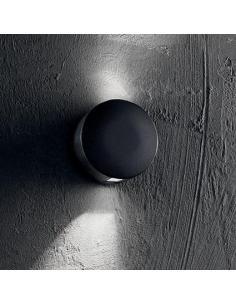 Ideal Lux 140377 Dot AP2 Wall Lamp Black