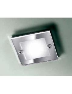 SD-101 RECESSED GU5,3 CHROME (FRAME SQUARE)