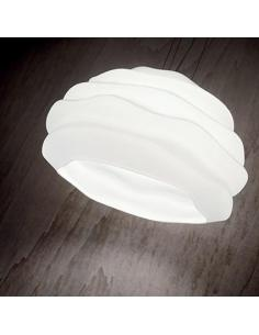 Ideal Lux 132389 Karma SP1 Small pendant Lamp in Glass