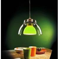 Pan SOS083 Gilda Lampadario a Sospensione Trasparente Verde