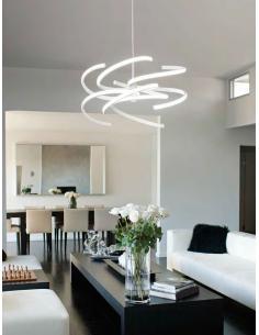 Eglo 96046 Sania 3 Lampada da Parete Applique Effetto Luce LED