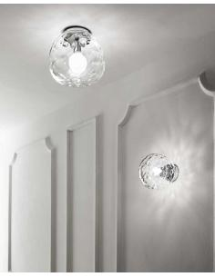 Perenz 6469 TR Ceiling Lamp Ceiling light in transparent Glass