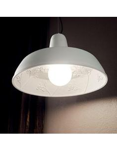 Ideal Lux 134352 Moby SP1 suspension Lamp in chalk
