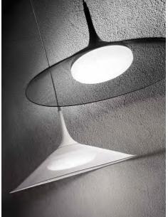 Perenz 6438 B Suspension Lamp in painted metal black