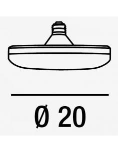 Perenz A20-30W LED SMD LC Lampadina led smd a Luce Calda 3000°K
