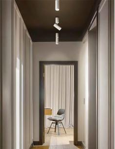Perenz 6400 B LC LED Spotlight single white painted metal