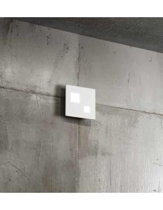 Perenz 6388 B LN Applique/Plafoniera metallo bianco e acrilico