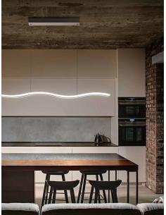 Perenz 6364 B LN Lampada a Sospensione LED in metallo/plexiglass