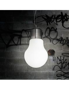 Ideal Lux 007137 Luce bianco SP1 small Lampada a sospensione