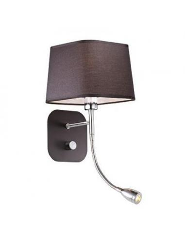 bello economico alta moda godere del prezzo di liquidazione Ideal Lux 087733 Dido AP2 wall Lamp black
